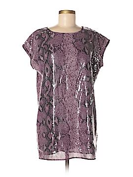 Libby Edelman Short Sleeve Blouse Size M