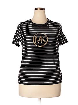 MICHAEL Michael Kors Short Sleeve T-Shirt Size 1X (Plus)