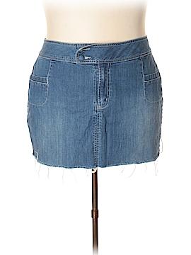 Venezia Denim Skirt Size 26 (Plus)