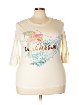 Venezia 3/4 Sleeve T-Shirt Size 14 - 16 Plus (Plus)