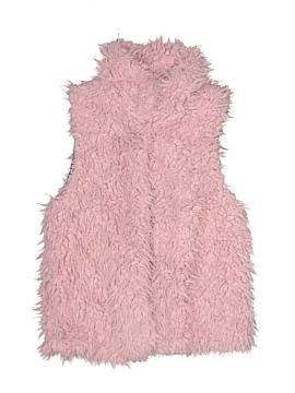 Zara Faux Fur Vest Size 9 - 10