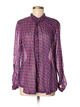 Hei Hei Long Sleeve Button-Down Shirt Size M