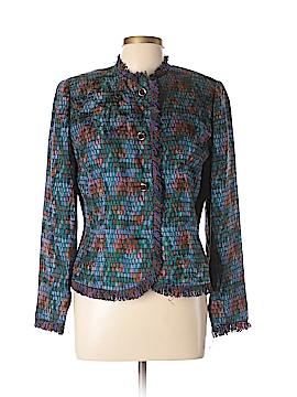 Anne Crimmins for Umi Collection Silk Blazer Size 10