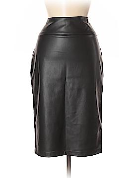 Thalia Sodi Faux Leather Skirt Size 8