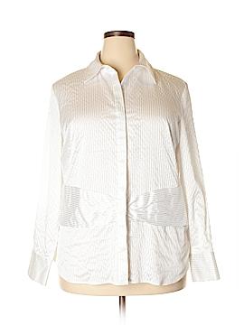 Fred David Long Sleeve Blouse Size 18 - 20 (Plus)
