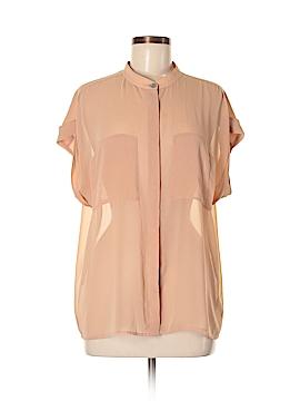 Cabiria Short Sleeve Blouse Size M