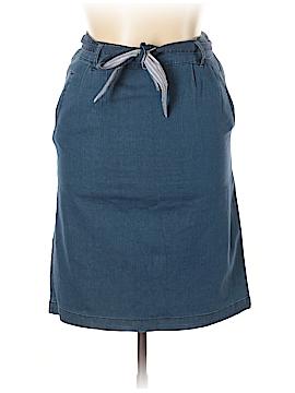 Laura Scott Denim Skirt Size 10
