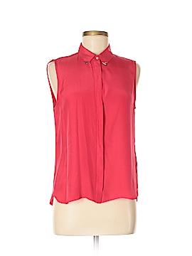 Zara Sleeveless Silk Top Size M