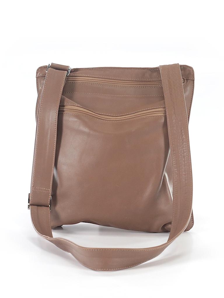 Pin It Marco Buggiani Women Leather Crossbody Bag One Size