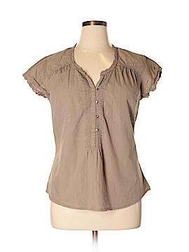 Bit & Bridle Short Sleeve Blouse Size XL