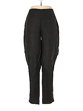 Sarah Pacini Linen Pants Size Lg (3)