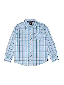 Tony Hawk Long Sleeve Button-Down Shirt Size 6