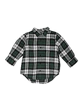 Bass Pro Shops Long Sleeve Button-Down Shirt Size X-Small  (Kids)