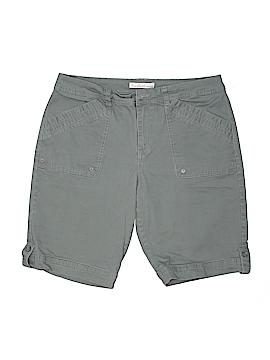 Gloria Vanderbilt Khaki Shorts Size 10