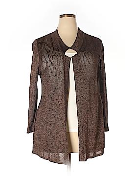 Nic + Zoe Silk Cardigan Size 2X (Plus)