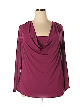 Covington Outlet Long Sleeve Top Size 2X (Plus)