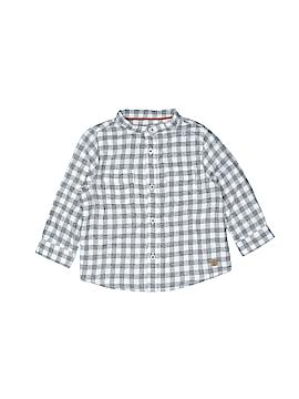 Zara Long Sleeve Button-Down Shirt Size 6-9 mo