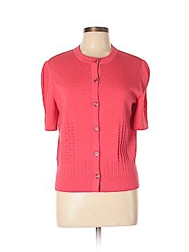 St. John Sport Wool Cardigan Size XL