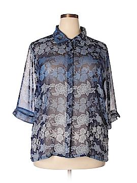 BonWorth 3/4 Sleeve Blouse Size XL (Petite)