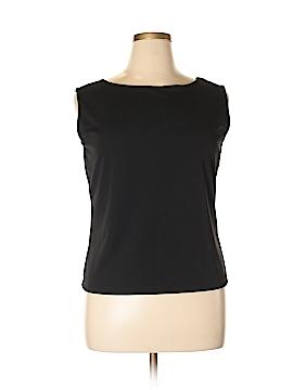 Amanda Smith Sleeveless Blouse Size XL
