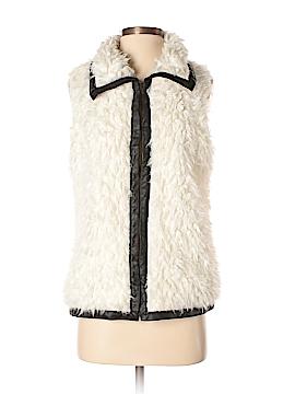 C.Luce Faux Fur Vest Size S