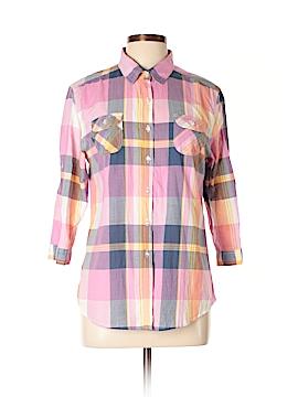 Hang Ten Long Sleeve Button-Down Shirt Size XL