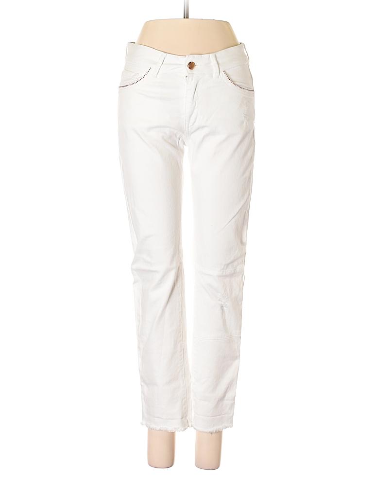 9e3cda61 Zara Solid White Jeans Size 00 - 68% off | thredUP