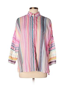 Basler 3/4 Sleeve Button-Down Shirt Size 42 (EU)