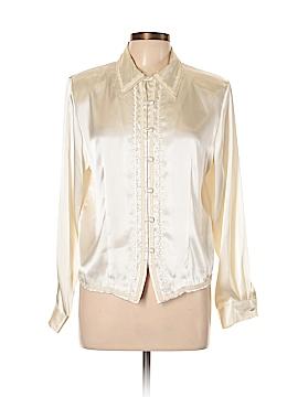 Karen Scott Long Sleeve Blouse Size 8