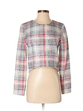 Nicholas Long Sleeve Silk Top Size 4