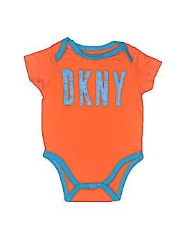 DKNY Short Sleeve Onesie Size 6-9 mo