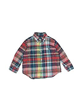 Ralph by Ralph Lauren Long Sleeve Button-Down Shirt Size 18 mo