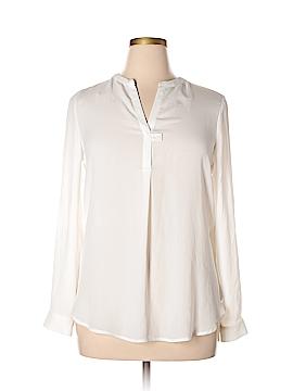 Pleione Long Sleeve Blouse Size L
