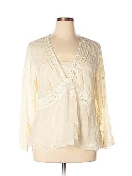J.jill Long Sleeve Blouse Size XL (Petite)