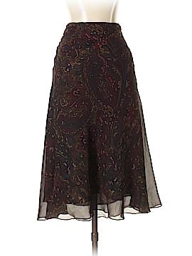 Lauren by Ralph Lauren Silk Skirt Size P