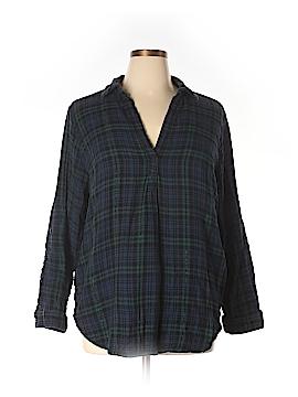 SONOMA life + style Long Sleeve Blouse Size 2X (Plus)
