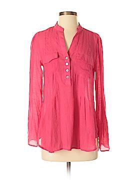 Valerie Stevens Long Sleeve Blouse Size S