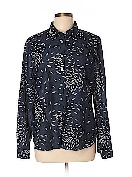 Jcpenney Long Sleeve Button-Down Shirt Size XL