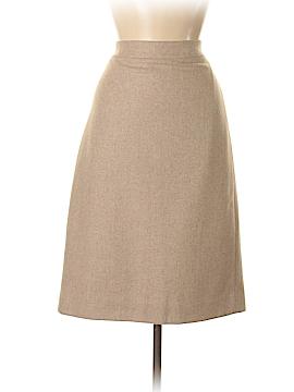 J. Crew For PIAMITA Wool Skirt Size 8