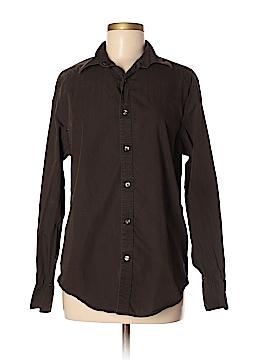 Claiborne Long Sleeve Button-Down Shirt Size M