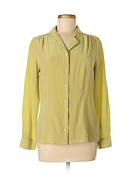 Pendleton Long Sleeve Silk Top Size 8