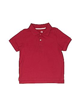 J. Khaki Short Sleeve Polo Size 6
