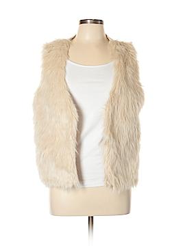 Eyeshadow Faux Fur Vest Size XL