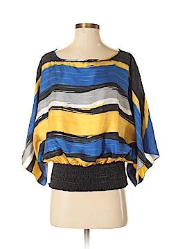 MICHAEL Michael Kors 3/4 Sleeve Silk Top Size S