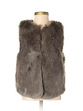 Wearmaster Outerwear Faux Fur Vest Size S