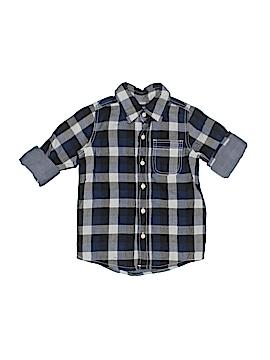 OshKosh B'gosh Long Sleeve Button-Down Shirt Size 4