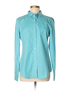 Wonder Long Sleeve Button-Down Shirt Size M