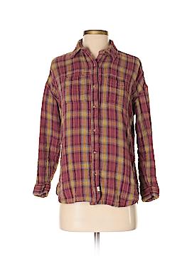 Melrose Long Sleeve Button-Down Shirt Size XS