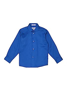 Calvin Klein Long Sleeve Button-Down Shirt Size 7