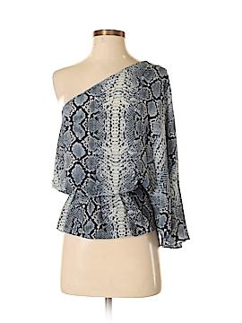 Ramona LaRue by Arianne 3/4 Sleeve Silk Top Size XS